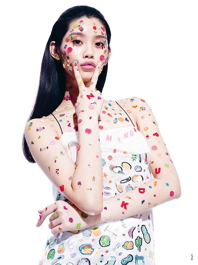 Фото - азиатская модель Мин Си в ANTIDOTE MAGAZINE (весна-лето 2015)
