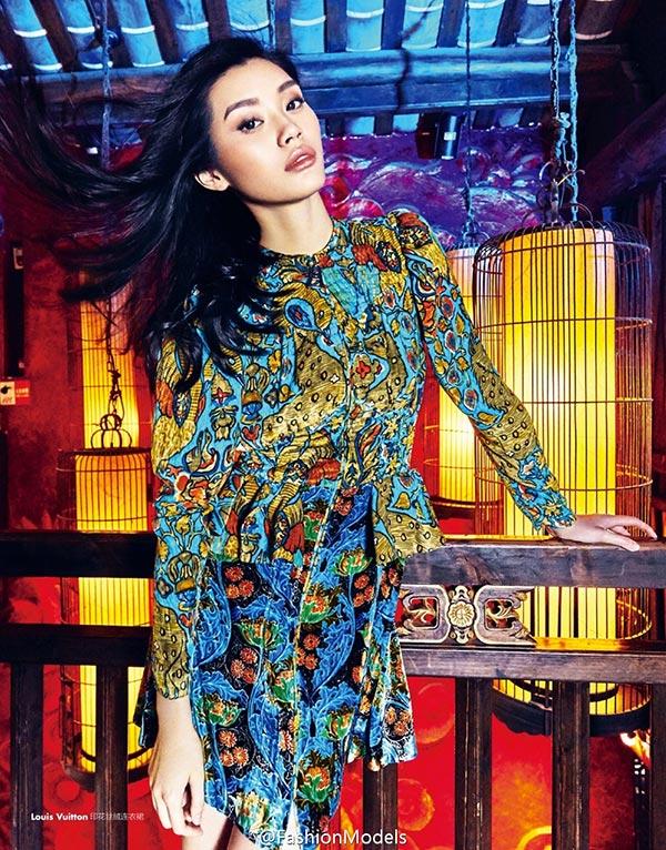 Фото - Мин Си в китайском выпуске MODERN LADY (июнь 2015)
