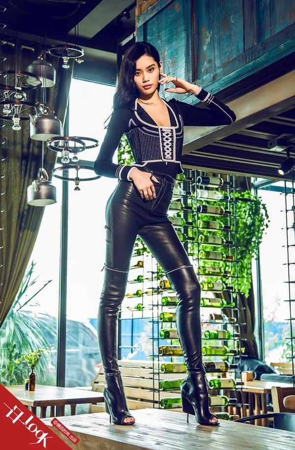 Фото - Мин Си в онлайн-журнале ONLY LADY CHINA 2015