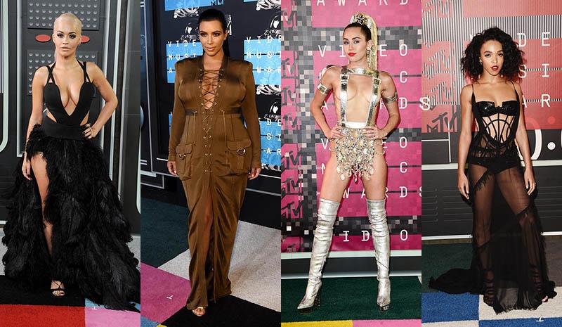Фото - Откровенные платья номинантов на MTV Video Music Awards 2015