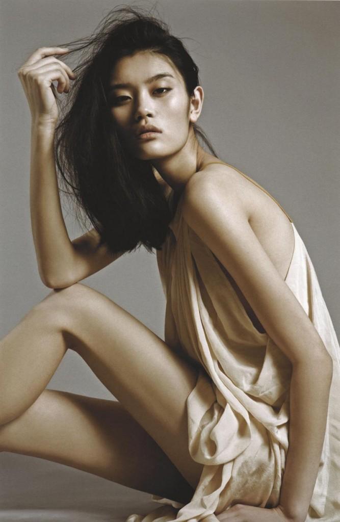 Фото - азиатская топ-модель Ming-Xi