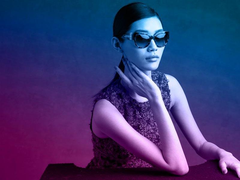 Фото - Ming Xi в лукбуке Michael Kors 'Miranda' Eyewear Collection S/S 2015