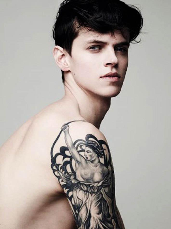 Фото - парень-модель из Голландии Риан ван Генд