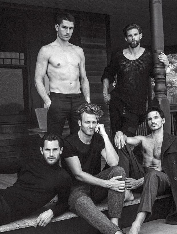 Фото - Мужчины-супермодели в объективе Брюса Вебера
