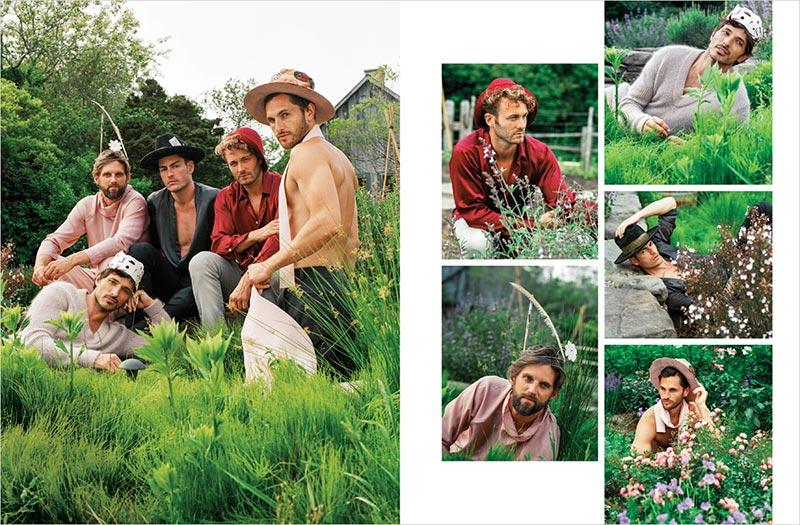 Фото - Мужчины-супермодели для сентябрьского выпуска VMAN