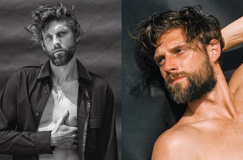 Фото - супермодели мужчины в фотосессии Брюса Вебера