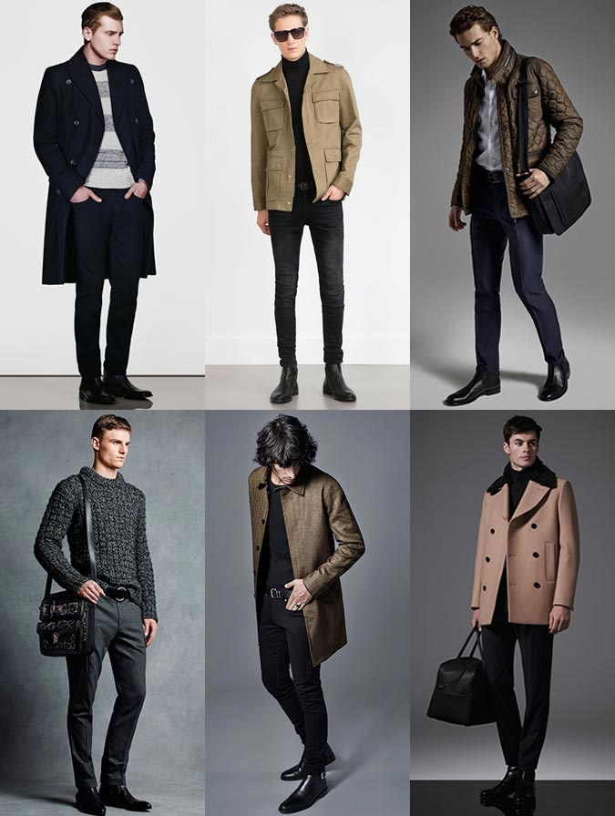 Фото - какие мужские ботинки сейчас в моде 2015