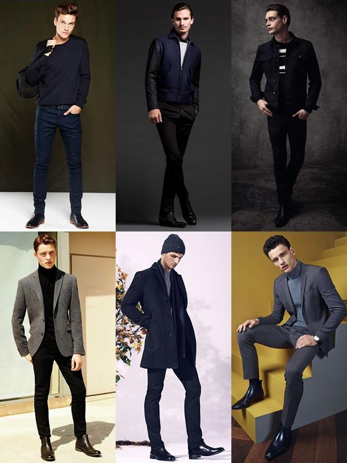 Фото - Стильные мужские образы с ботинками челси