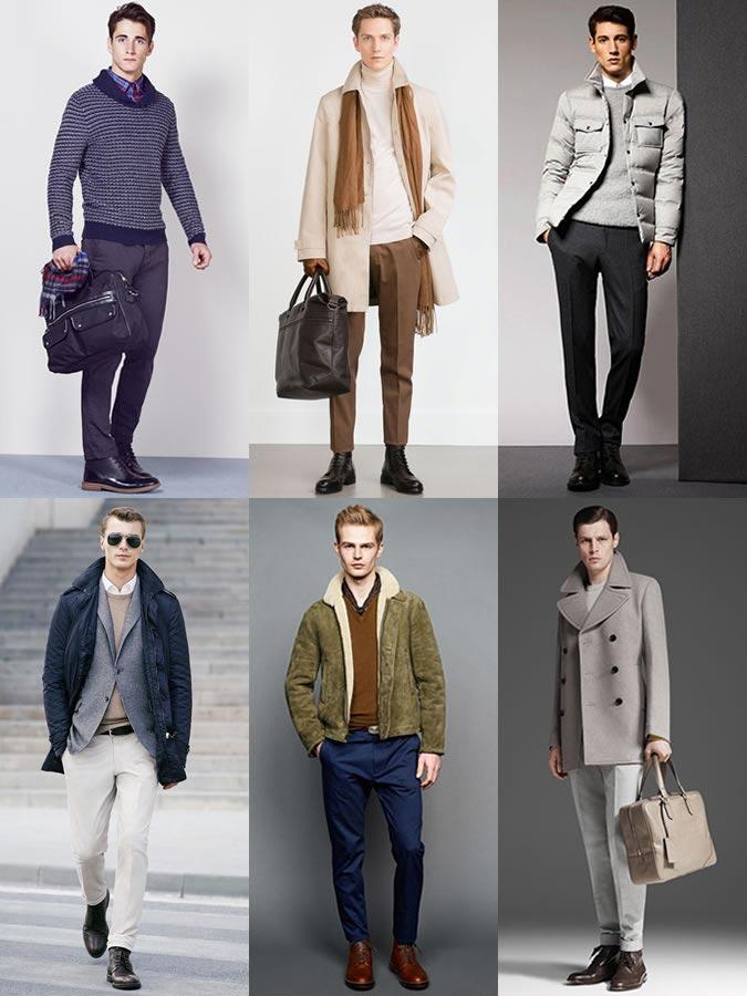 Фото - замшевые мужские ботинки дерби осенью-зимой 2015
