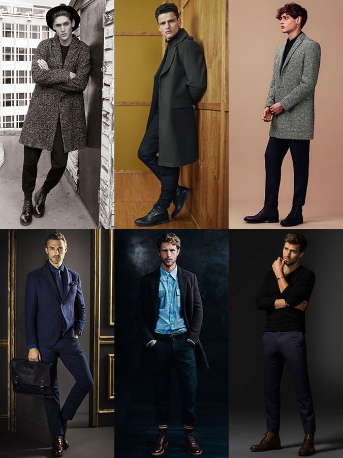 Фото - замшевые мужские ботинки