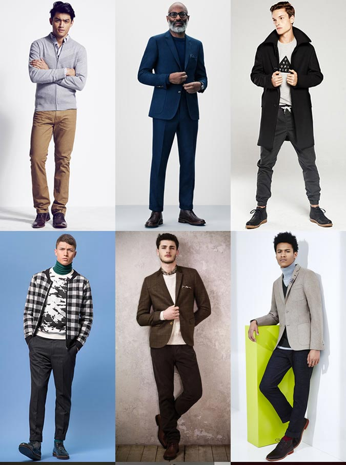 Фото - с чем носить мужские ботинки