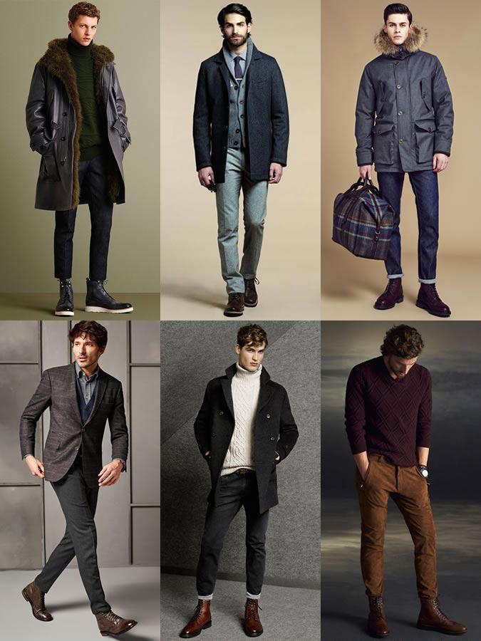 Фото - с чем носить мужские ботинки-броги осенью
