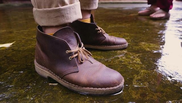 Фото - мужские ботинки дезерты 2015