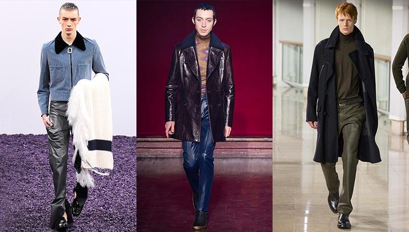 Фото - Тренд № 11: Кожаные штаны