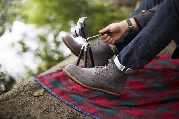 Фото - мужские ботинки Броги 2015-2016