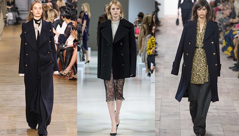 Фото - Тенденция № 17: пальто-бушлат