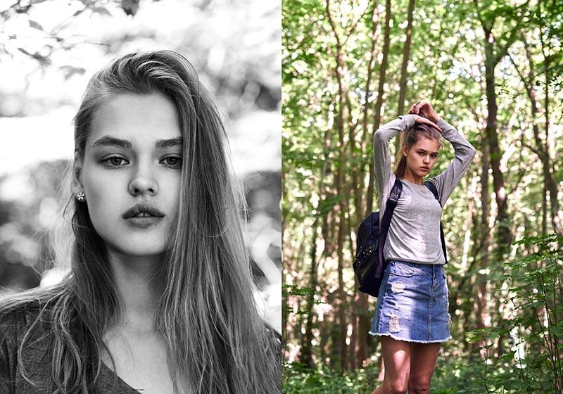 Фото - русская модель Алина Тимофеева