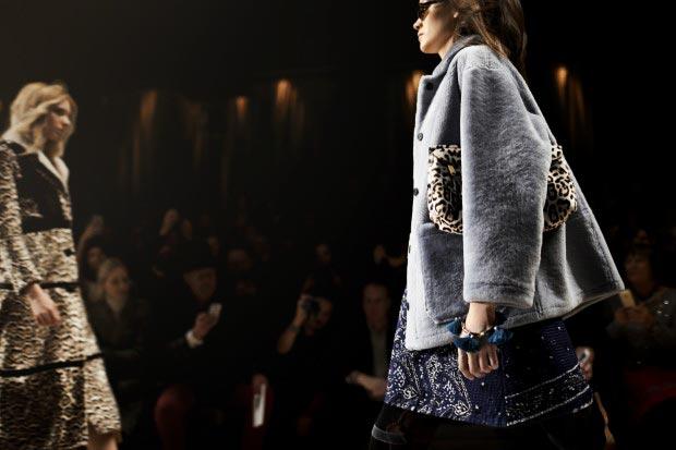 Фото - меховые пиджаки и полушубки в моде 2015
