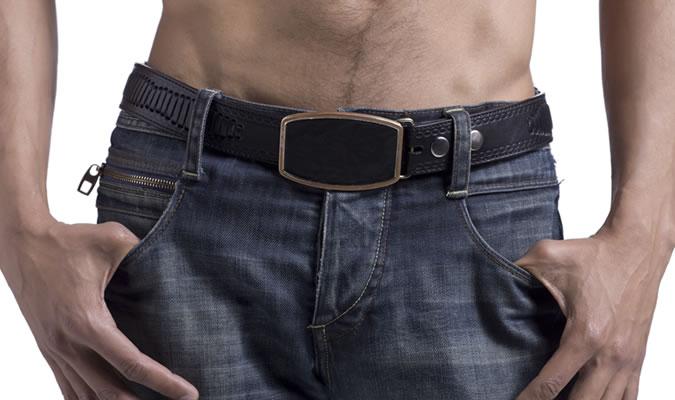 Фото - мужские ремни с большой пряжкой