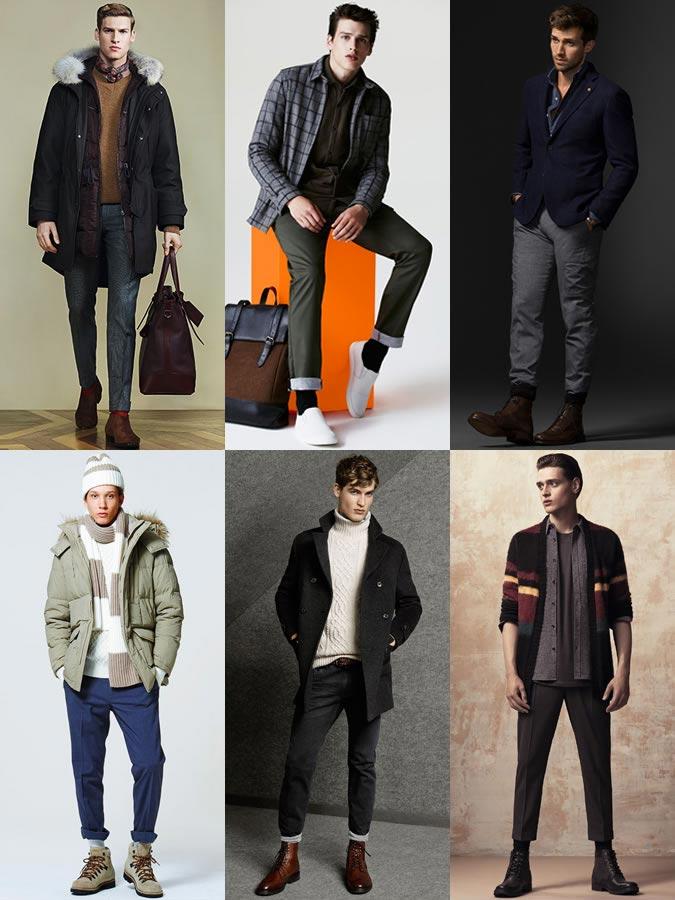 Фото - мужские аксессуары осень-зима 2015: носки