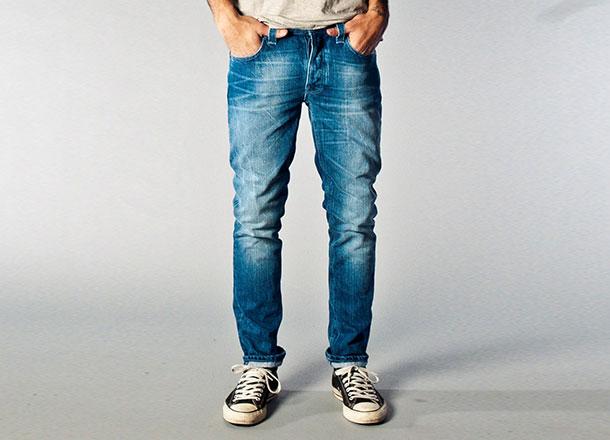 Фото - конические джинсы