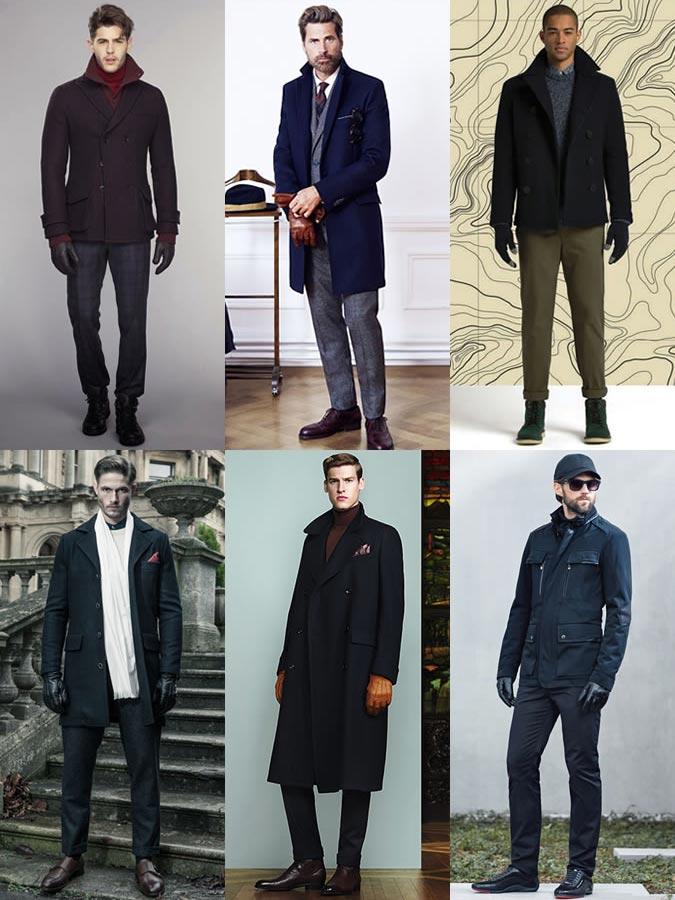 Фото - мужские аксессуары осень-зима 2015-2016: перчатки