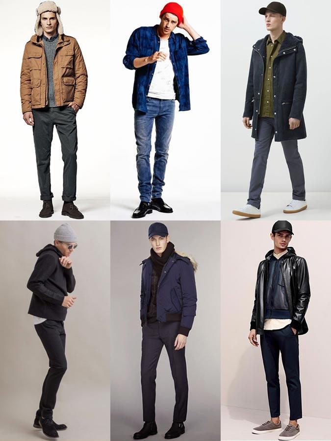 Фото - мужские аксессуары осень-зима 2015: шапки