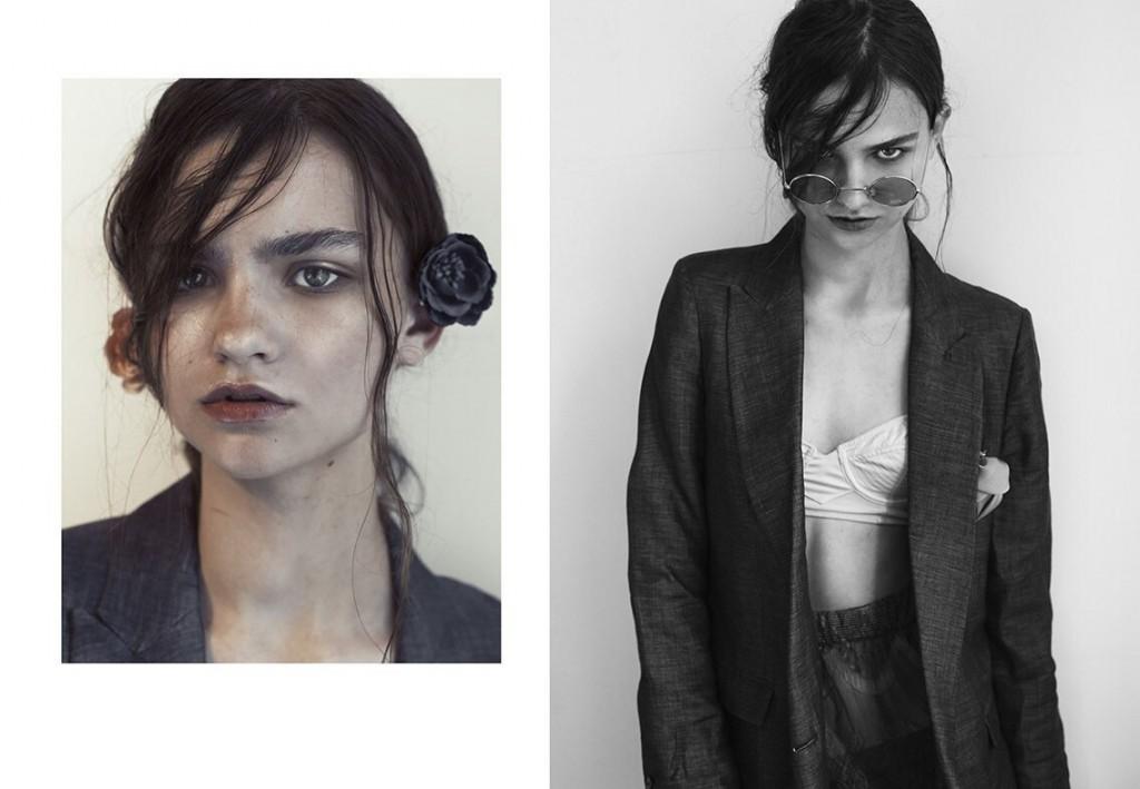 Фото - русская модель Настя Лаврищева