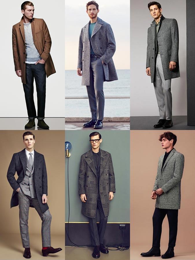 Фото - мужское модное пальто на осень 2015