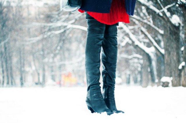 Фото - Зимние женские сапоги