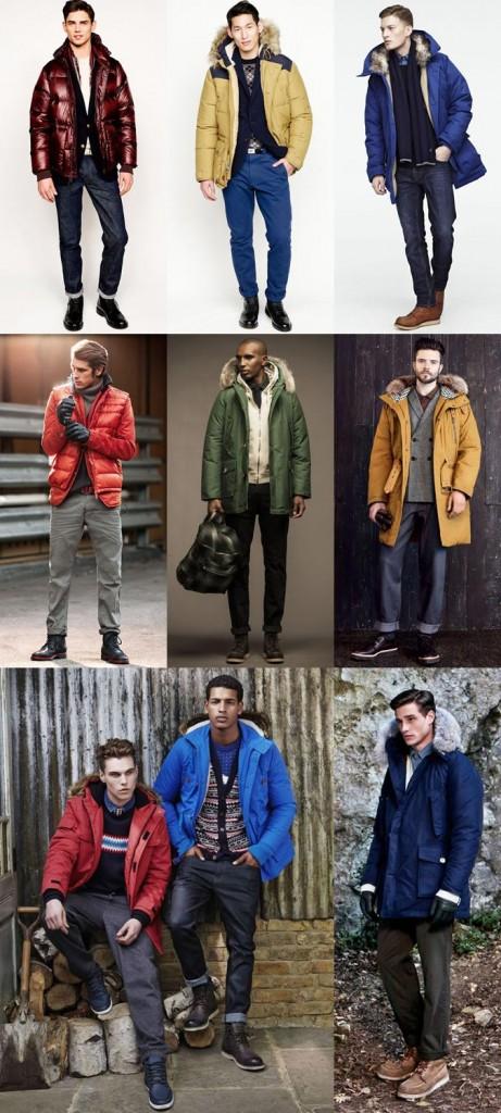 Фото - куртки и пуховики для горнолыжного курорта