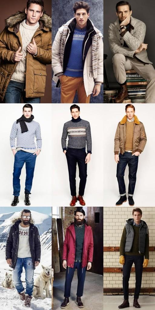 Фото - вязаные свитера и кофты для зимнего отдыха