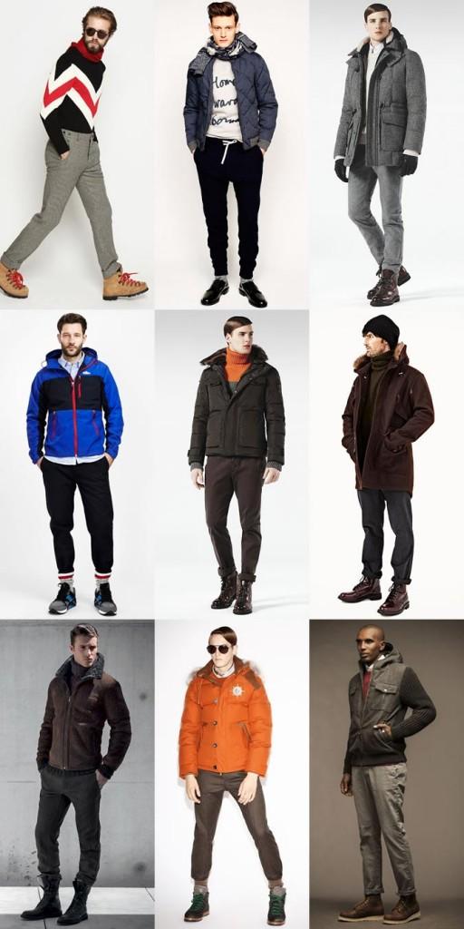 Фото - теплые штаны для активного отдыха зимой