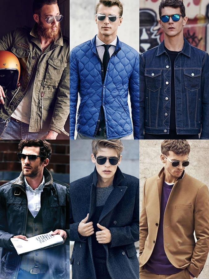 Фото - мужские аксессуары осень-зима 2015: солнцезащитные очки