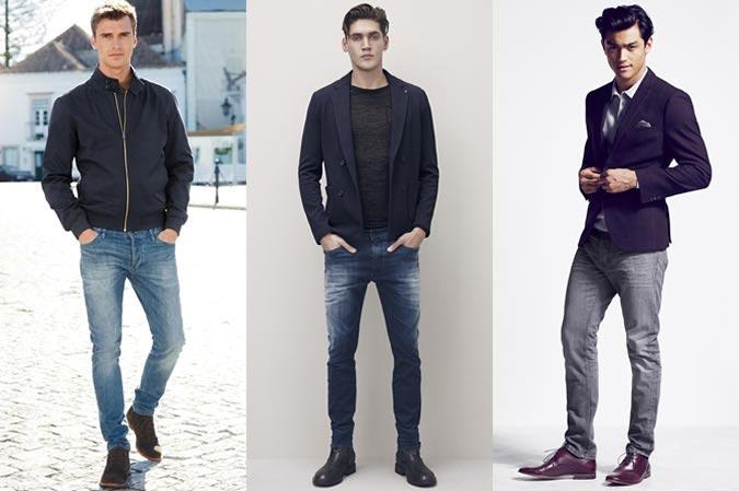Фото - хорошо сидящие мужские джинсы