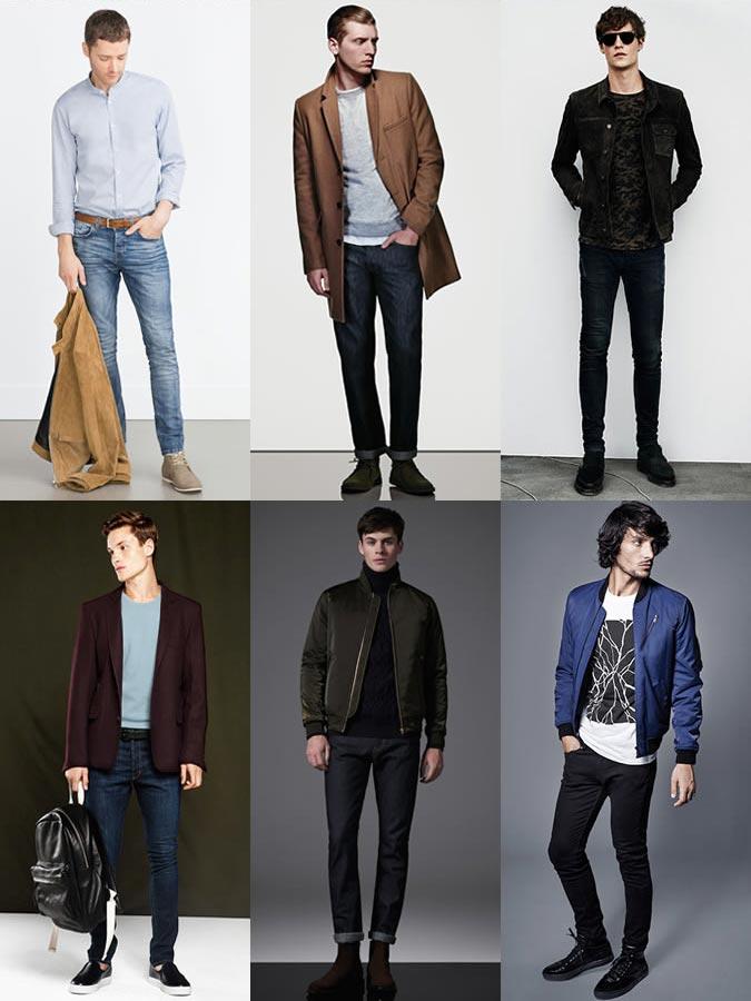 Фото - мужские джинсы по размеру