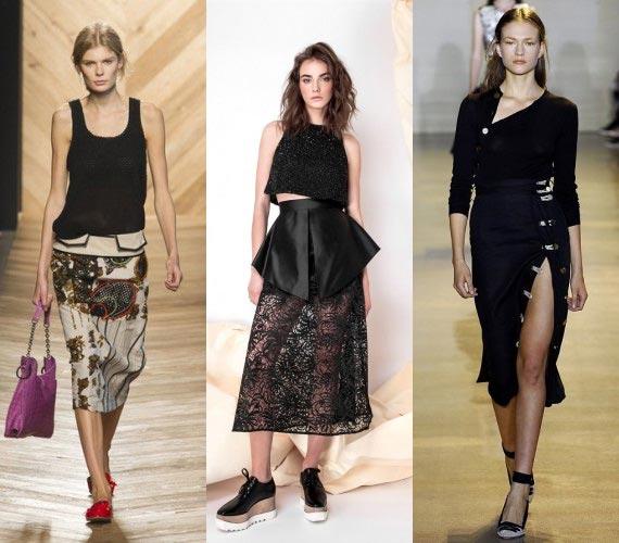 Фото - Асимметричные юбки в моде 2016