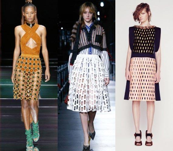 Фото - прозрачные юбки в моде весной-летом 2016