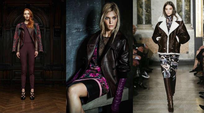 Фото - как носить женскую кожаную куртку бордового оттенка