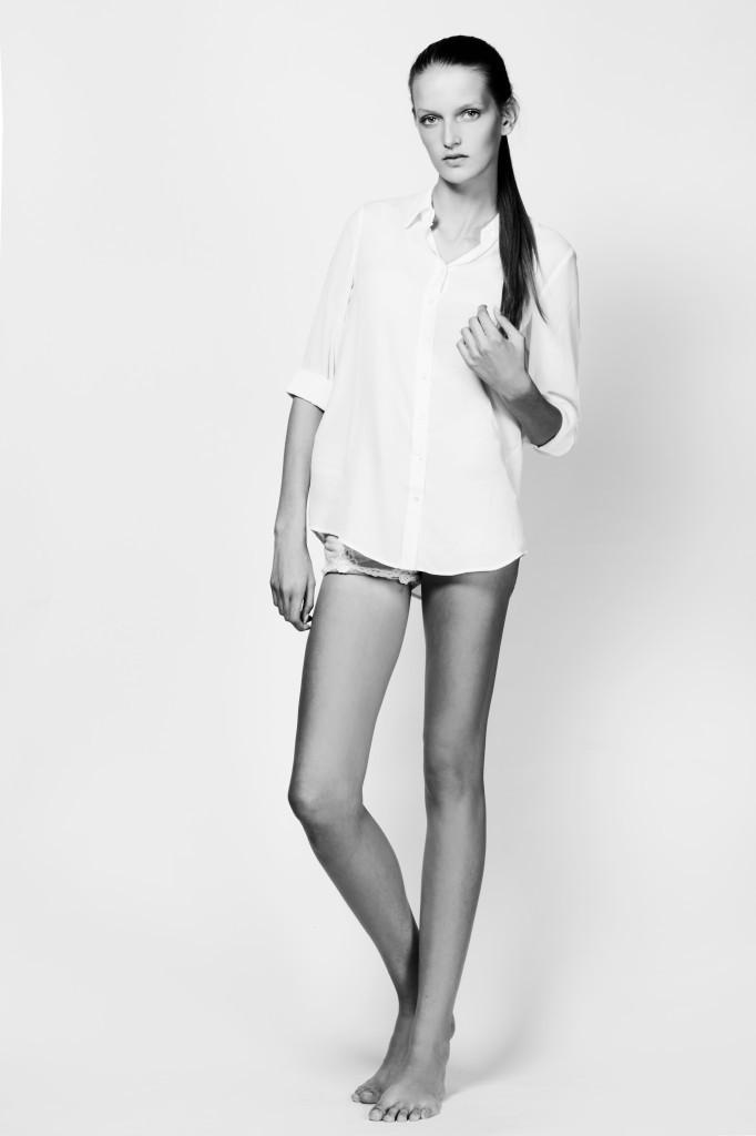 Фото - девушка-модель из Голландии