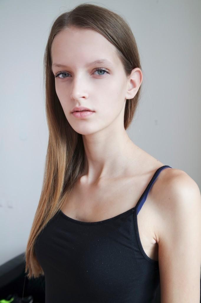 Фото - голландская модель Анук Тейссен