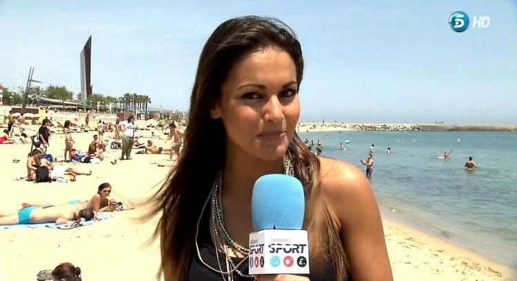 Фото - испанская телеведущая спортивных каналов Лара Альварес