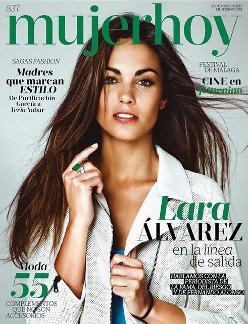 Фото - Альварес в Mujerhoy Magazine