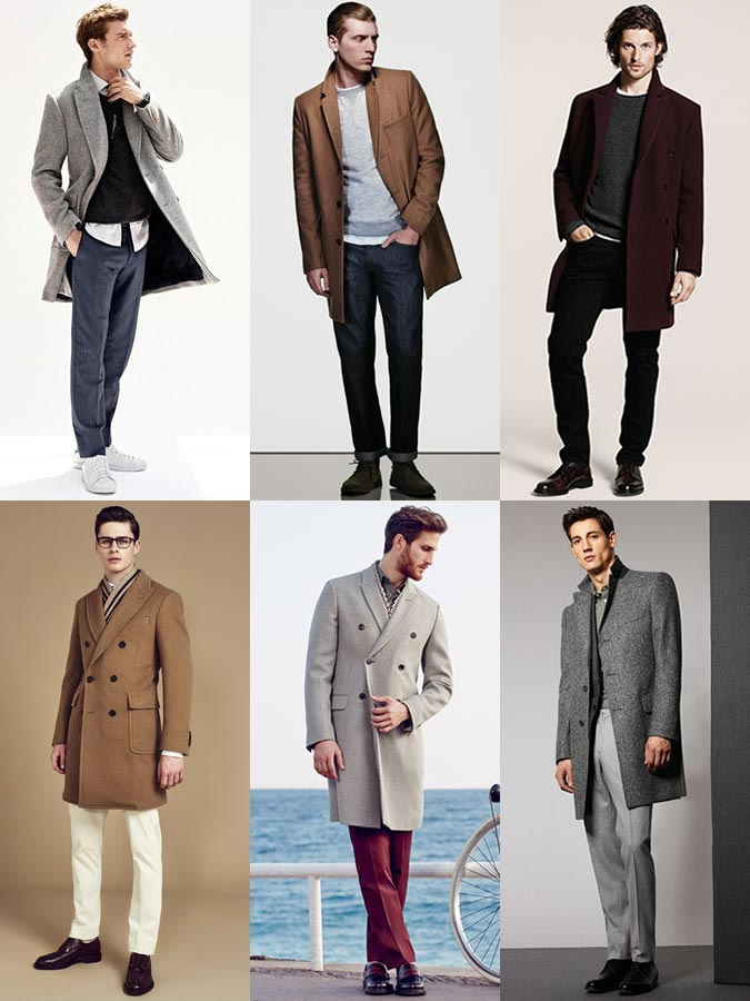 Фото парней в пальто