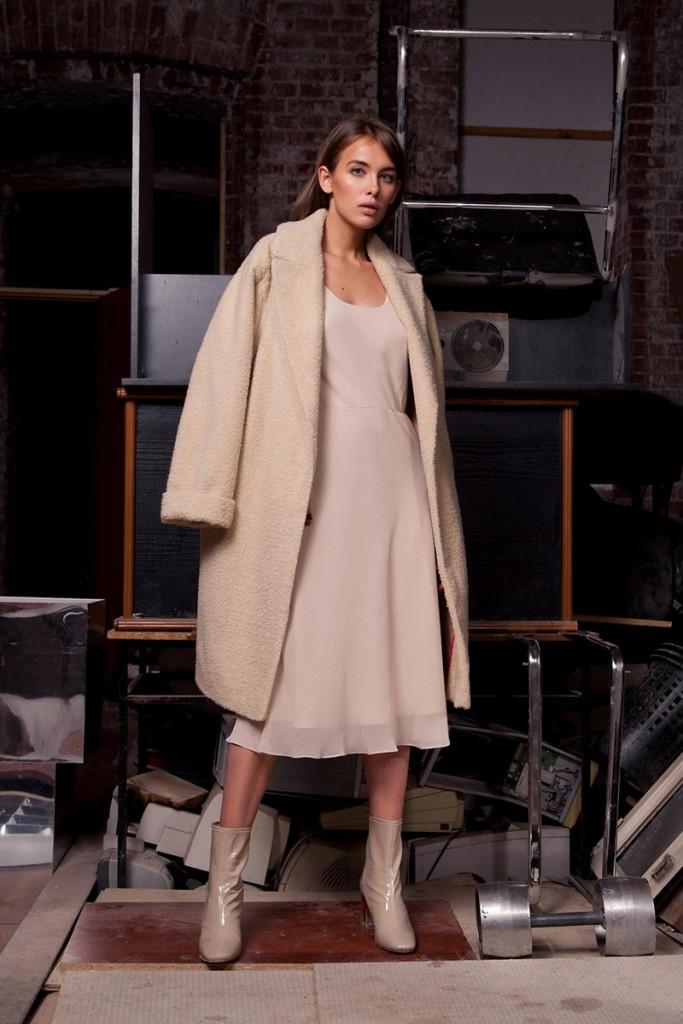 Фото - пальто-халат из кашемира