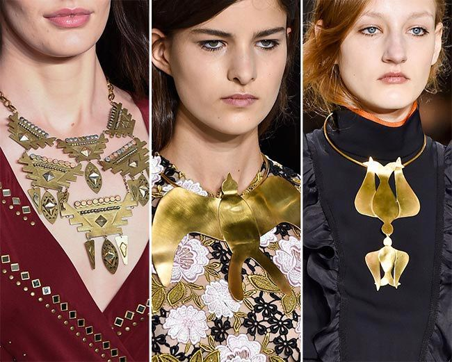 Фото - украшения в тренде 2016: ожерелье нагрудник