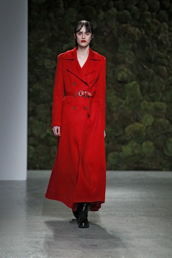 Фото - длинное женское пальто