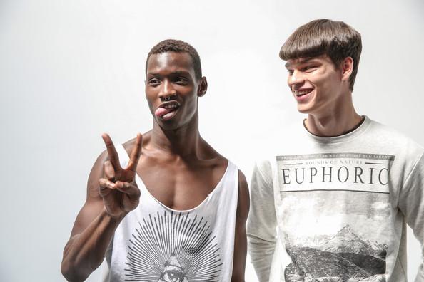 Фото - модели Адонис Боссо и Филип Хривнак