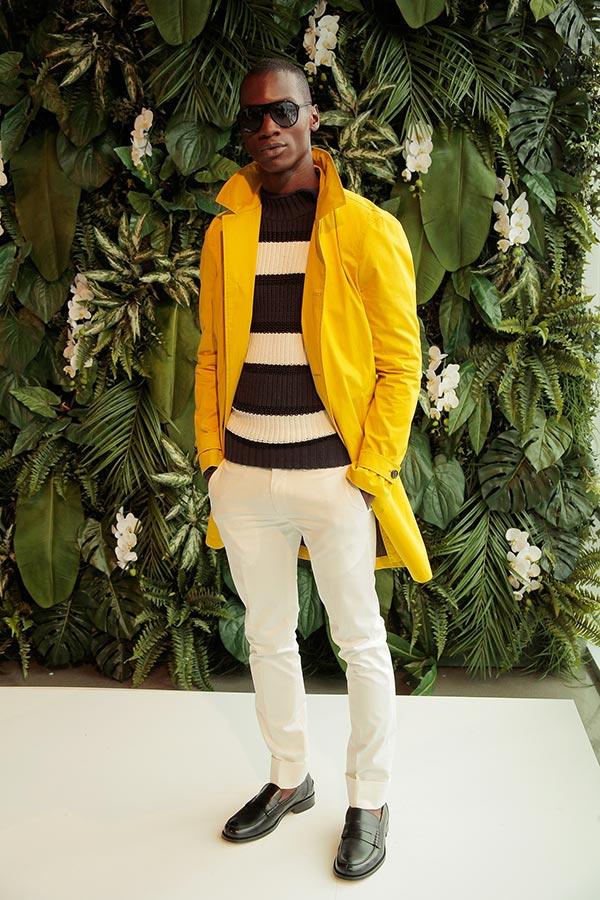 Фото - Боссо на модном показе: Tommy Hilfiger SS 2016/New-York