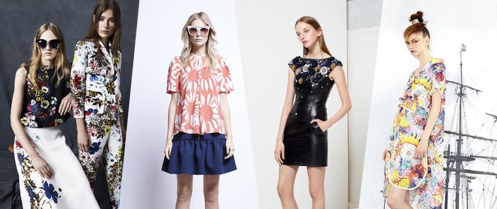 фото - цветочный принт в моде весной 2016